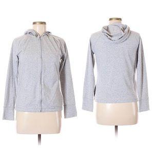 Capezio Shirts & Tops - SOLD Danskin Now Super Soft Grey Athletic Zip Up